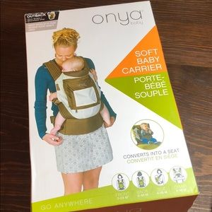 Onya soft baby carrier go anywhere baby wearing